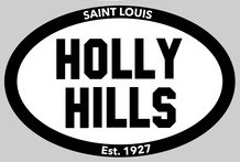 Holly Hills Euro Sticker